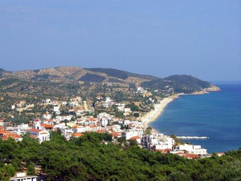 Krásy ostrova Thassos