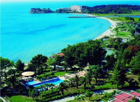 Pláž na Chalkidiki